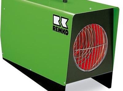 Remko ELT18 9 Elektrisk varmevifte fra 2 til 9 kwa