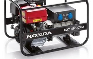 Strøm Aggregat Honda EC5000GV