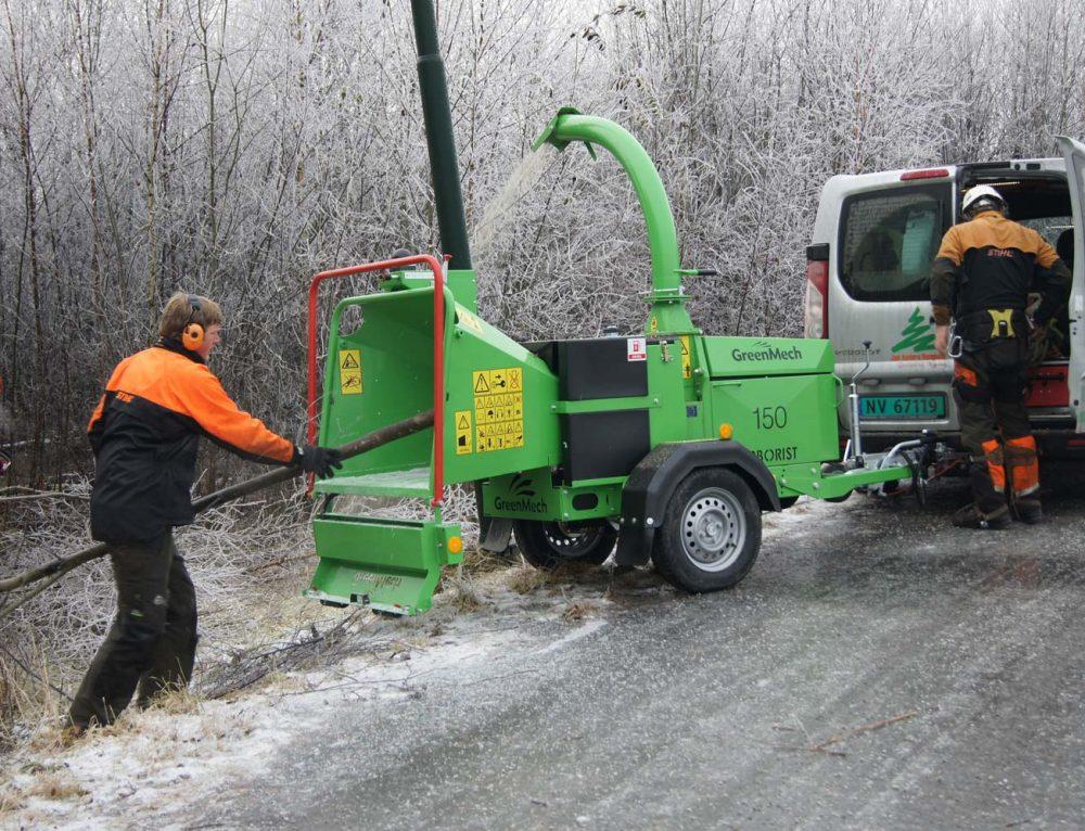 Kvistkutter GreenMech Arborist 150