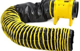 Heylo Vortex med slange Ventilator Vifte