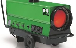 Remko ATK 25 Indirektefyrt byggvarmer med separate brennere 25 kwa Diesel