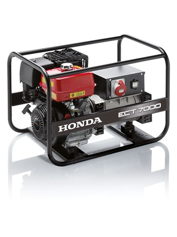 Strøm Aggregat Honda ECT7000GV