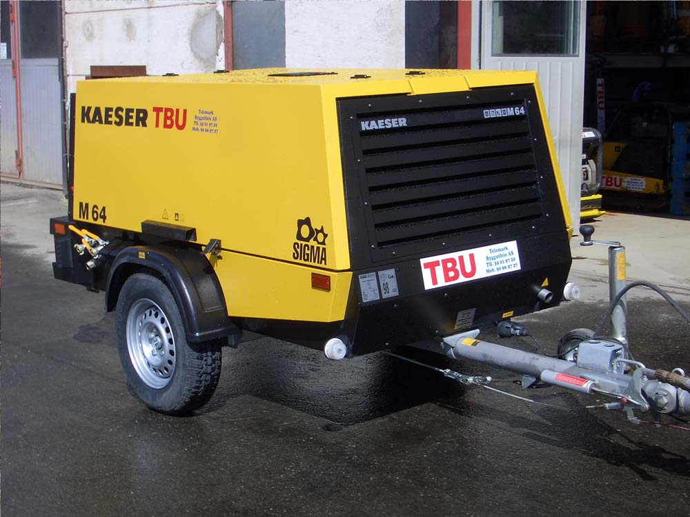 Kaeser M64 kompressor